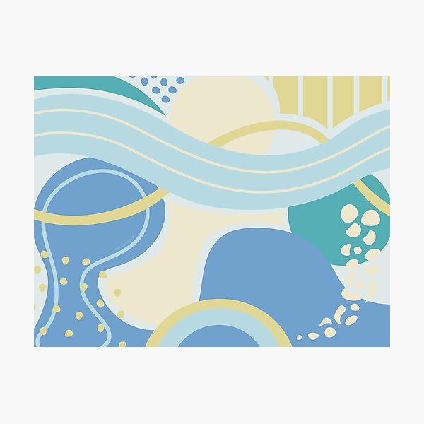 Ocean Arcs Photographic Print