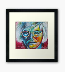 The Genius of Andy Warhol Framed Print