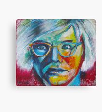 The Genius of Andy Warhol Canvas Print