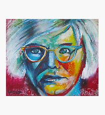 The Genius of Andy Warhol Photographic Print