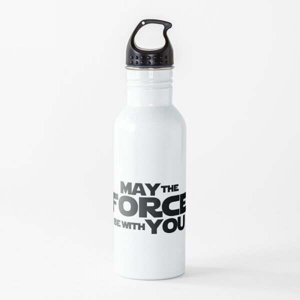 MAY THE FORCE BE WITH YOU GRAPHICS Water Bottle