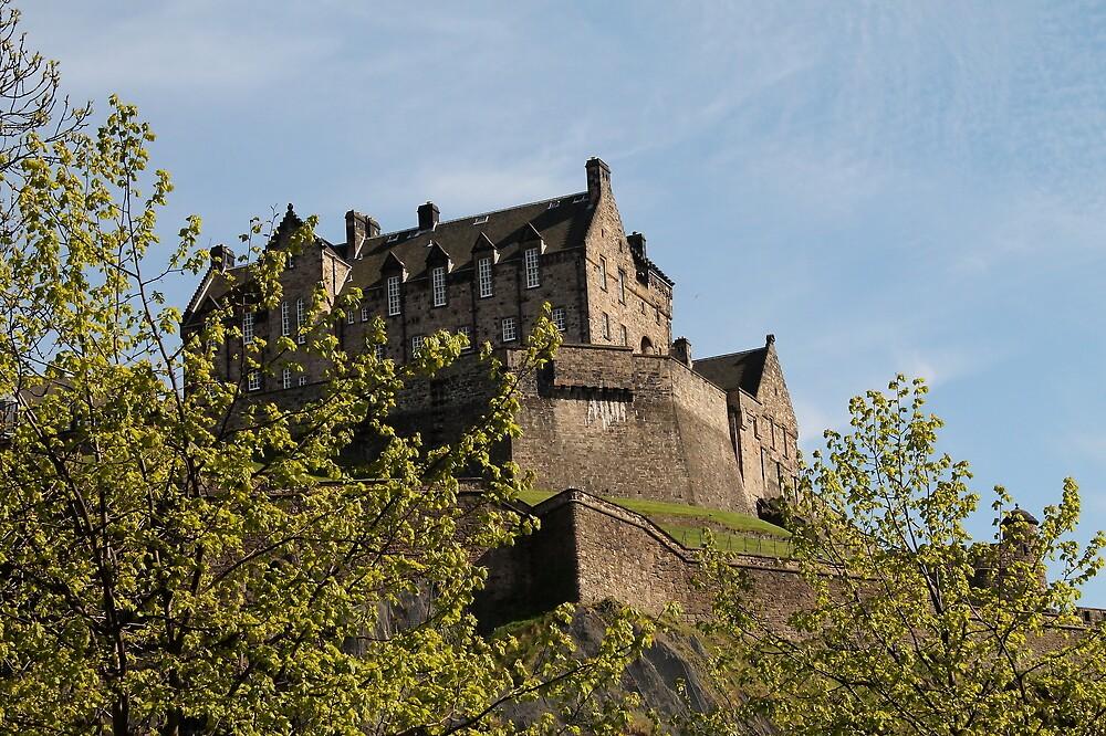 Edinburgh Castle by Pat Millar