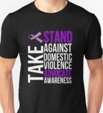 Stand Against Domestic Violence Unisex T-Shirt