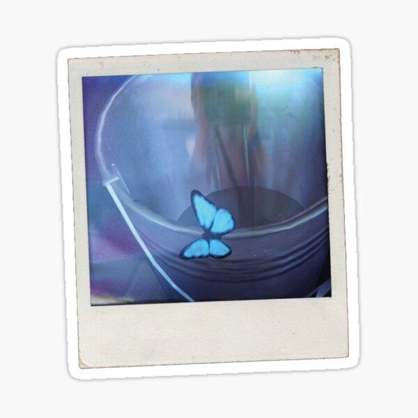 La vida es extraño efecto mariposa Pegatina