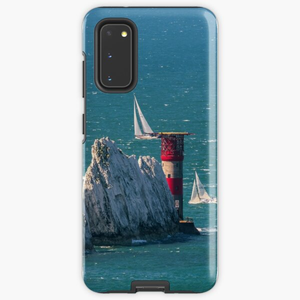 RORC Race The Wight Rounding The Needles Samsung Galaxy Tough Case