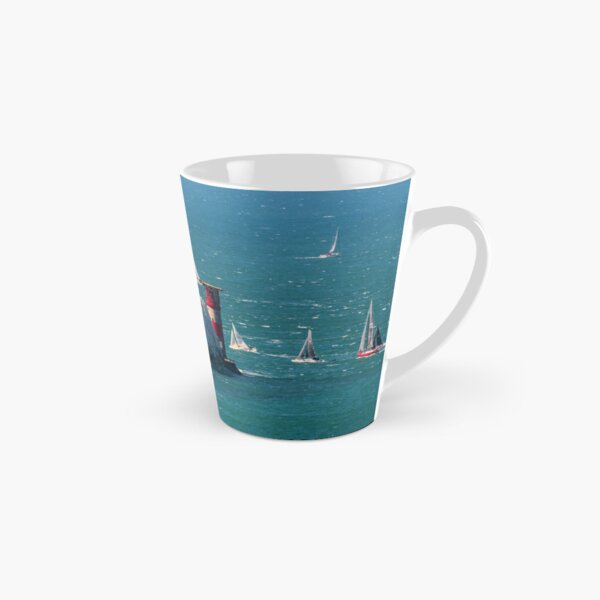 RORC Race The Wight Rounding The Needles Tall Mug