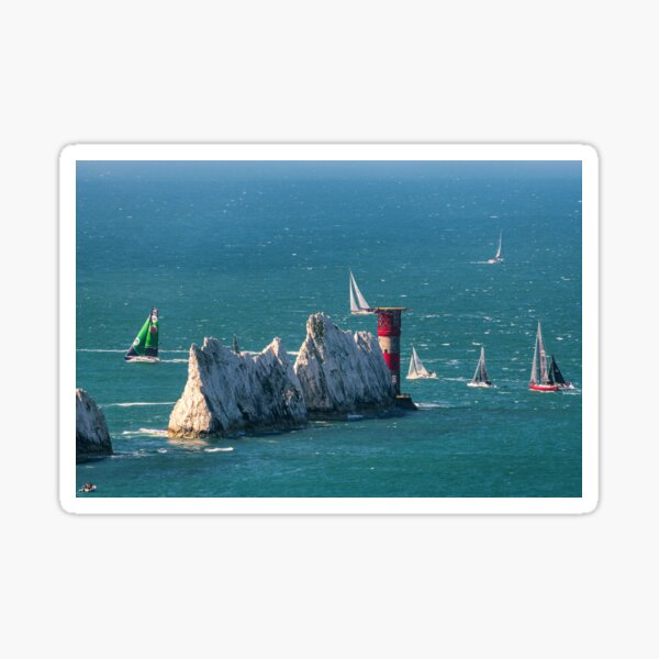 RORC Race The Wight Rounding The Needles Sticker