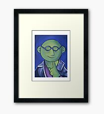Bunsen Honeydew, Eighth Doctor Framed Print