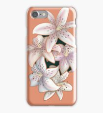 Tiger Lilies in Bloom iPhone Case/Skin