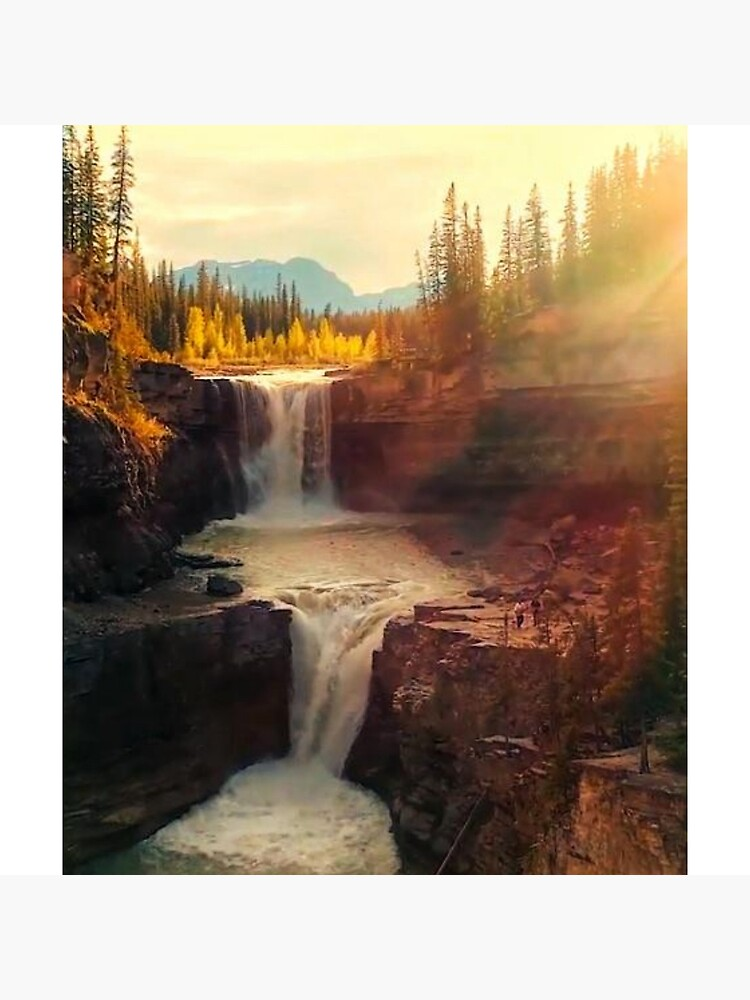 Sunshine waterfall by Christopherdeal