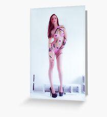Pink Tape 2012 Danni Nicole Greeting Card