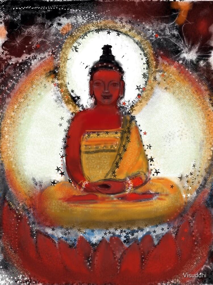 Amitabha - Red Buddha of the West by Visuddhi