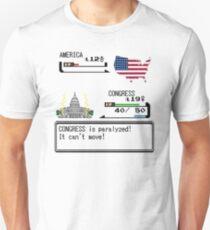 Gov't Shutdown Pokemon Style T-Shirt