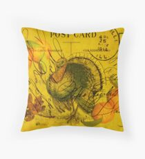 A Bountiful Thanksgiving Throw Pillow