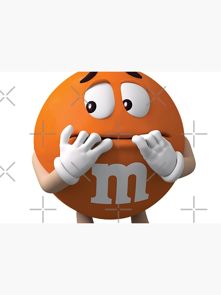 m&m's orange by Kot-v-kino