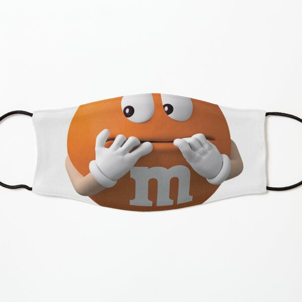 m&m's orange Kids Mask