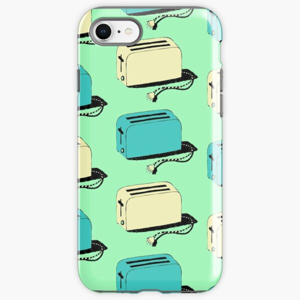 Toasters (mint & cream) iPhone Tough Case