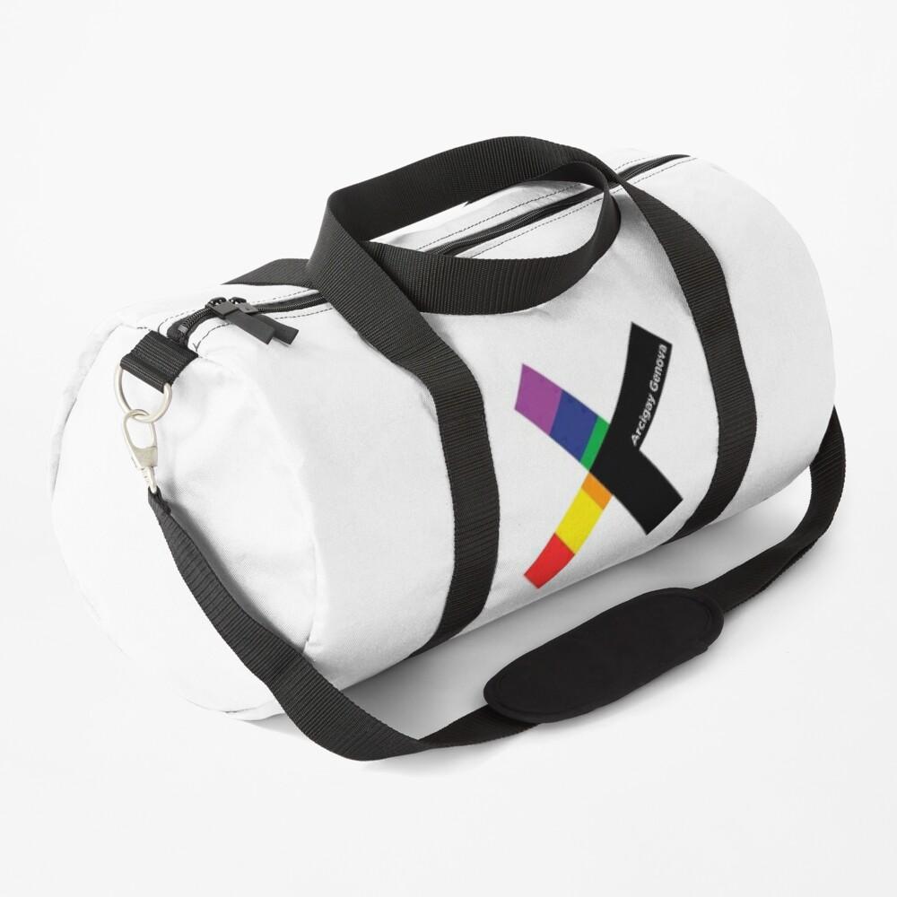 Arcigay Genova Logo Duffle Bag
