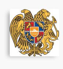 Armenia Coat of Arms Canvas Print