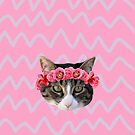 Kitty Cat Flower Crown by carls121