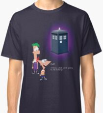 Hey Ferb, I Know What We're Going to Do Today Classic T-Shirt