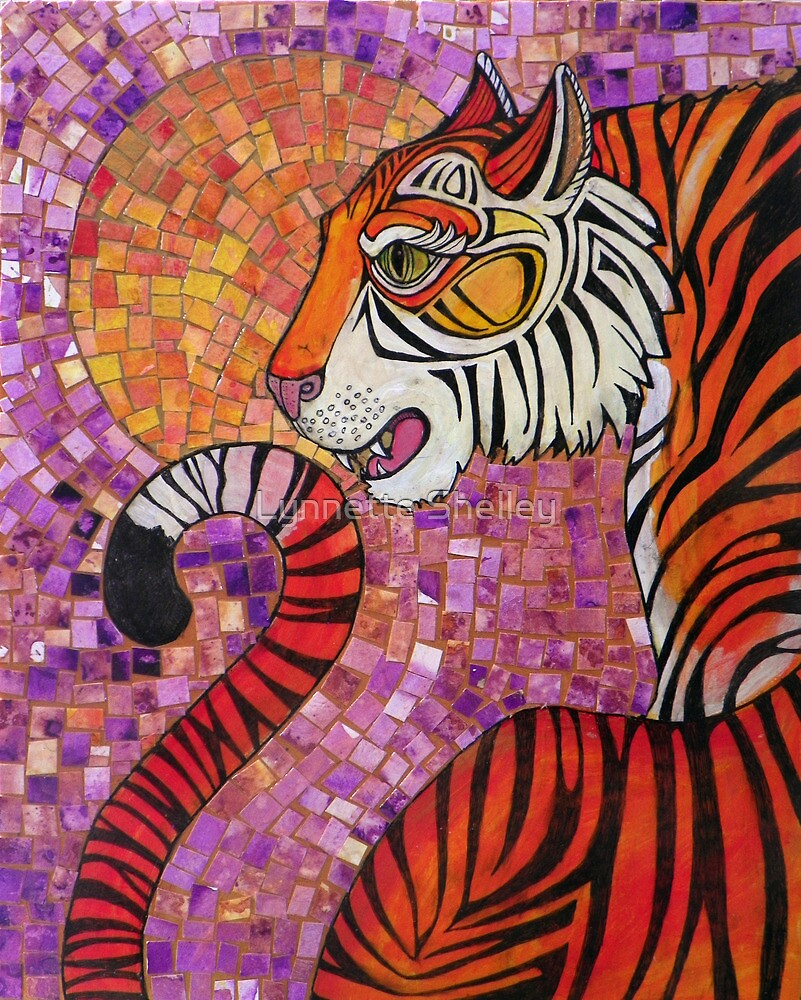 Sunset Tiger by Lynnette Shelley