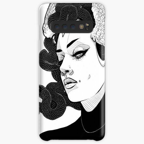 Medusa (Black Snakes) Samsung Galaxy Snap Case