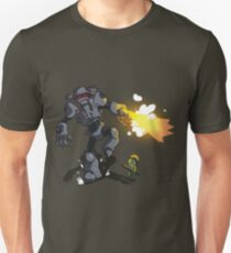 Chicks Dig Giant Robots Unisex T-Shirt