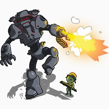 Chicks Dig Giant Robots by DukeAndScruff