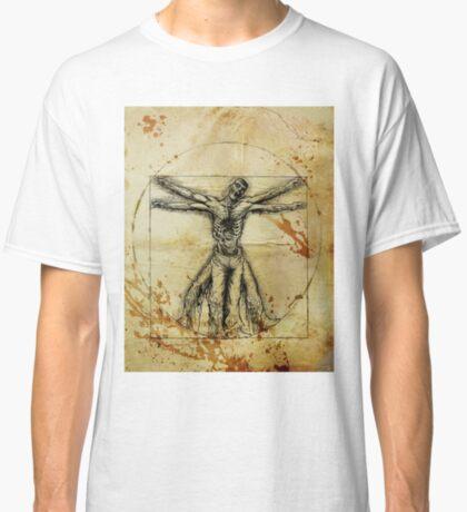 Vitruvian Zombie Classic T-Shirt