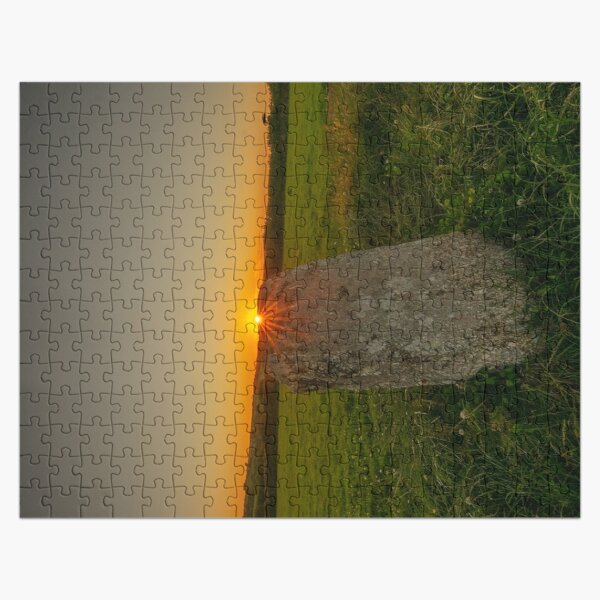 Sunset on Merry Maidens Jigsaw Puzzle