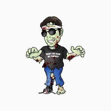 Gant the Zombie by GantMan