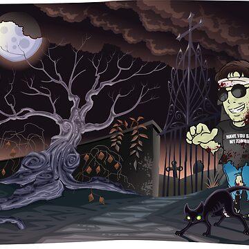 Gant the Zombie Portrait by GantMan
