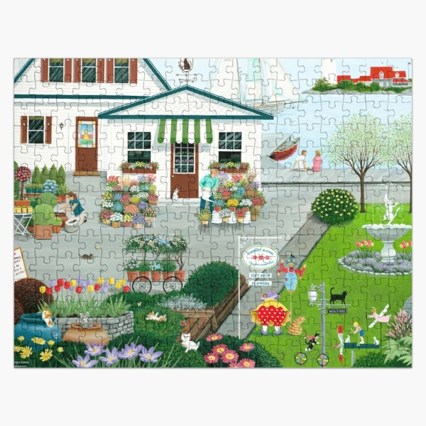 Purr-fect Blooms Jigsaw Puzzle
