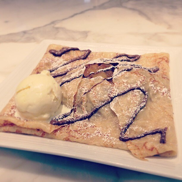Apple Nutella Crepe by Patsy Castle