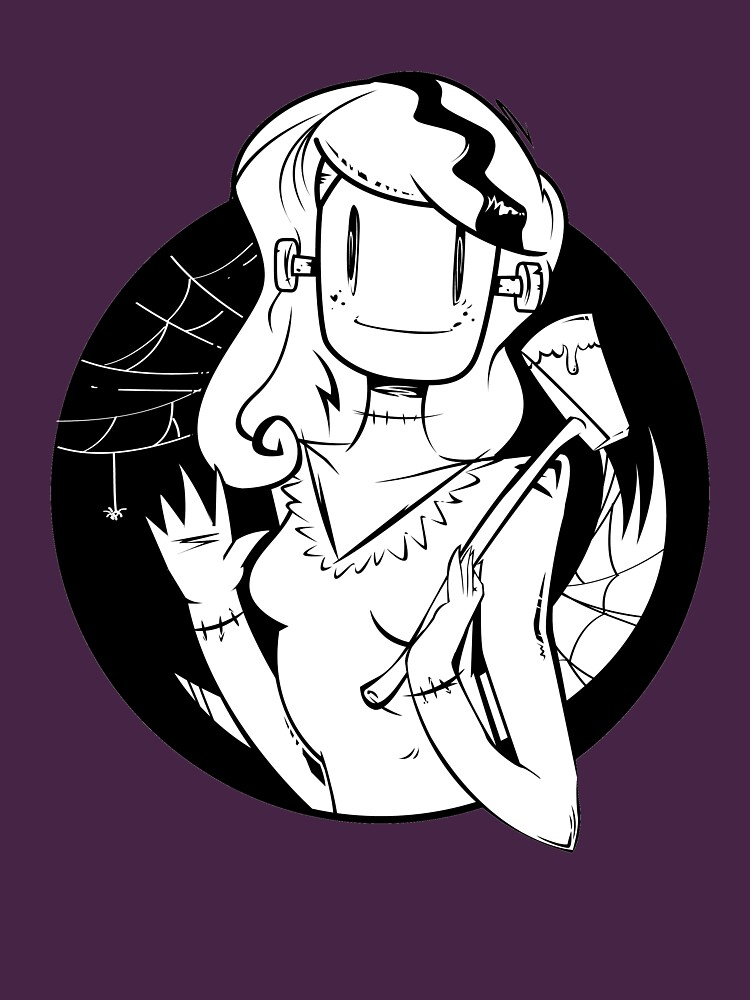Lady Frankenstein- Happy Halloween by Beardbotnik