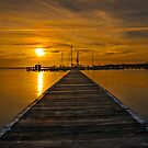 As Sunset Approaches. by bazcelt