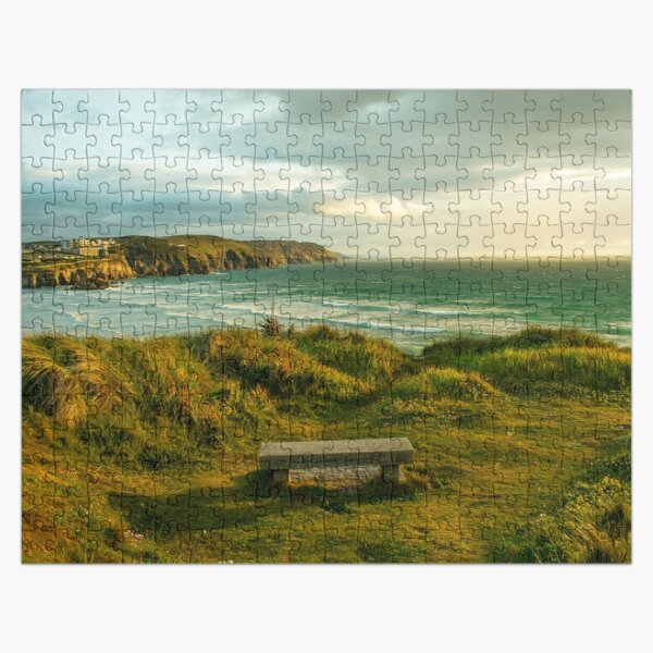 Lookout from Poldark Bench Jigsaw Puzzle
