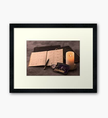 The Accountant Framed Print
