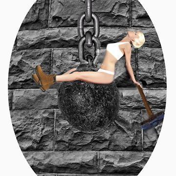 ✿♥‿♥✿ I CAME IN LIKE A WREAKING BALL--TEE SHIRT..-I NEVER HIT SO HARD IN LOVE-MILEY CYRUS SPOOF-WREAKING BALL SONG VIDEO INCLUDED✿♥‿♥✿  by Rapture777