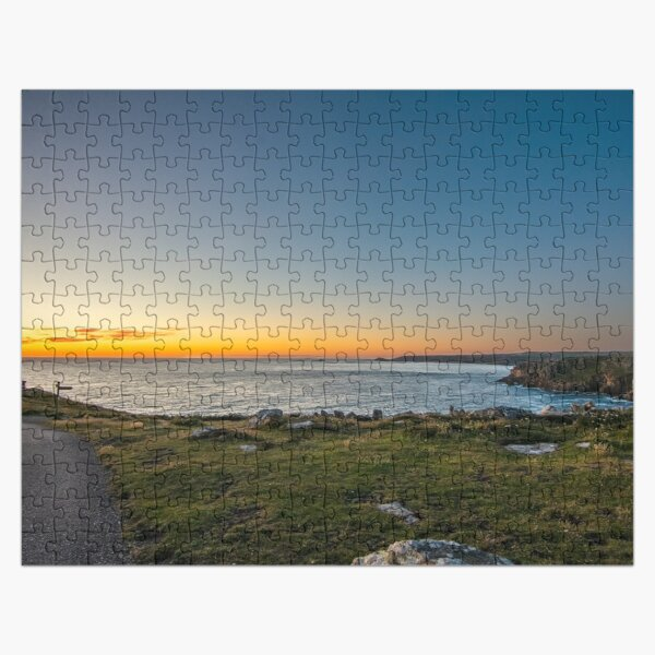 Sunset Over Land's End Jigsaw Puzzle