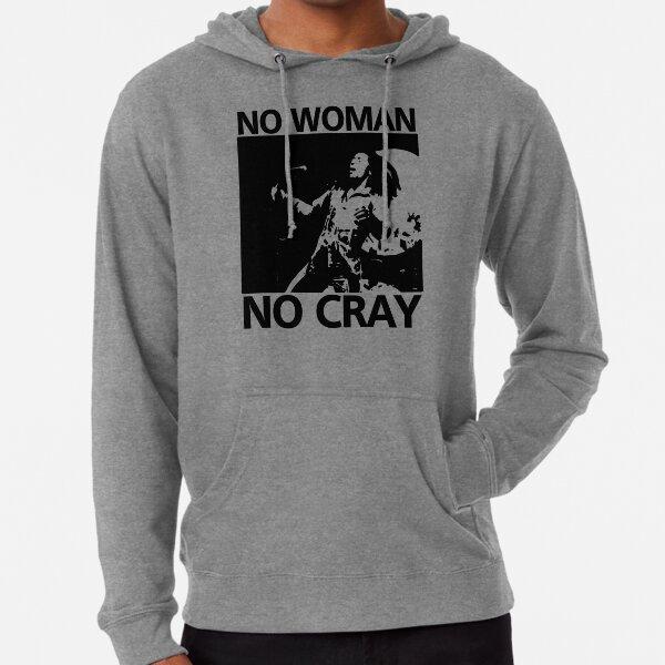 Camiseta No Woman No Cray Sudadera ligera con capucha