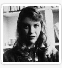 Sylvia Plath - Photo Sticker