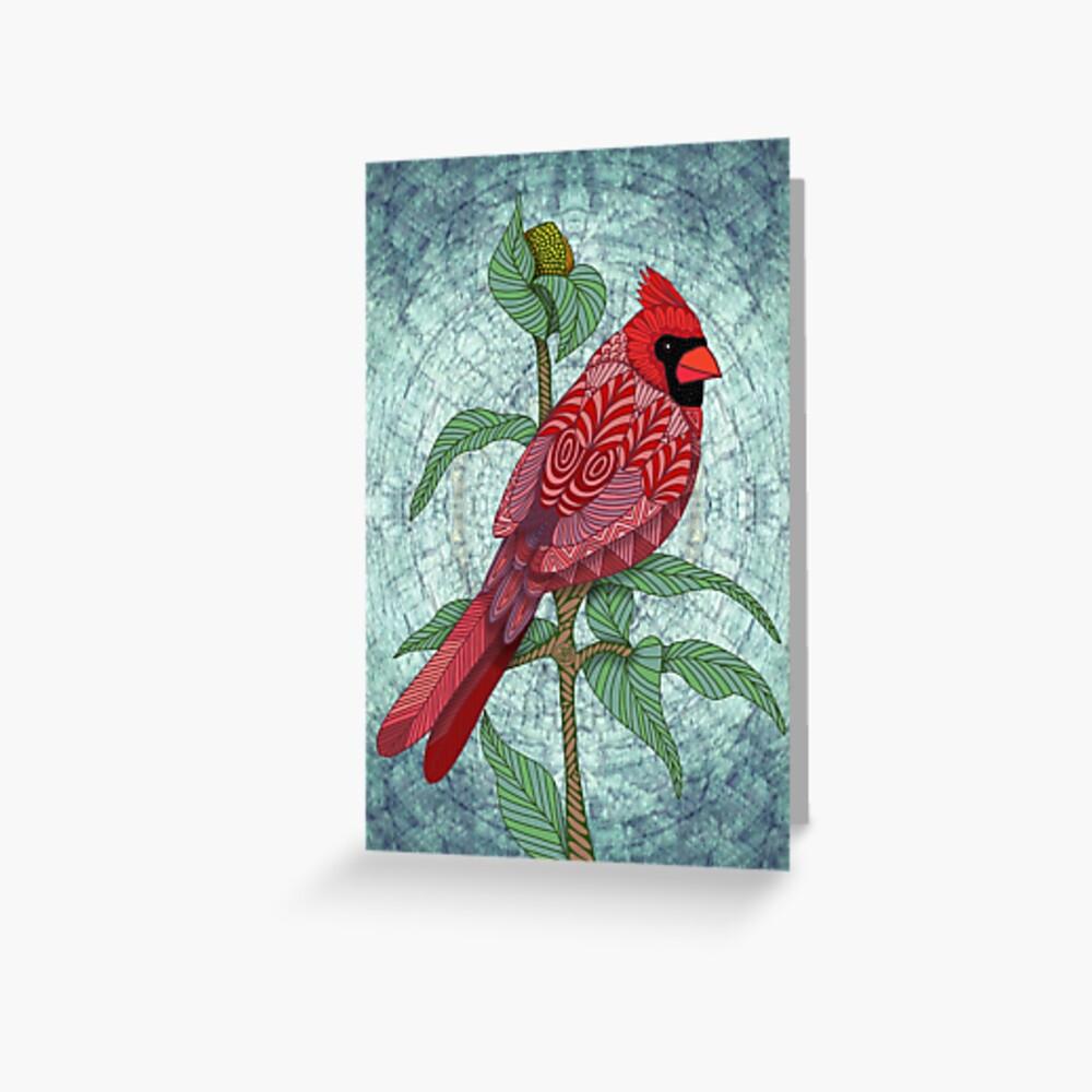 Virginia Cardinal Greeting Card