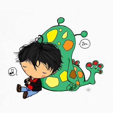 Dylan Dog lullaby by giugiu