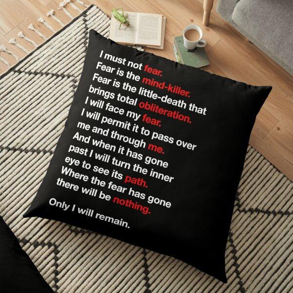 DUNE - Litany Against Fear Floor Pillow