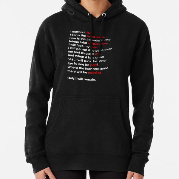 DUNE - Litany Against Fear Pullover Hoodie