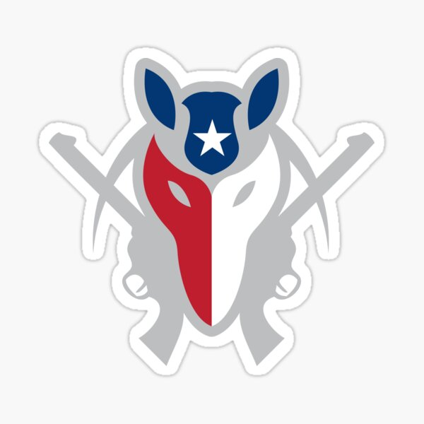 Texas Armadillo Militia Sticker