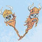 V is for Viking Beards of Valhalla by strangethingsA