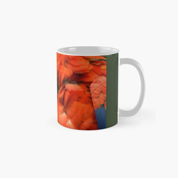 Red Parrot, the Scarlet Macaw – portrait Classic Mug